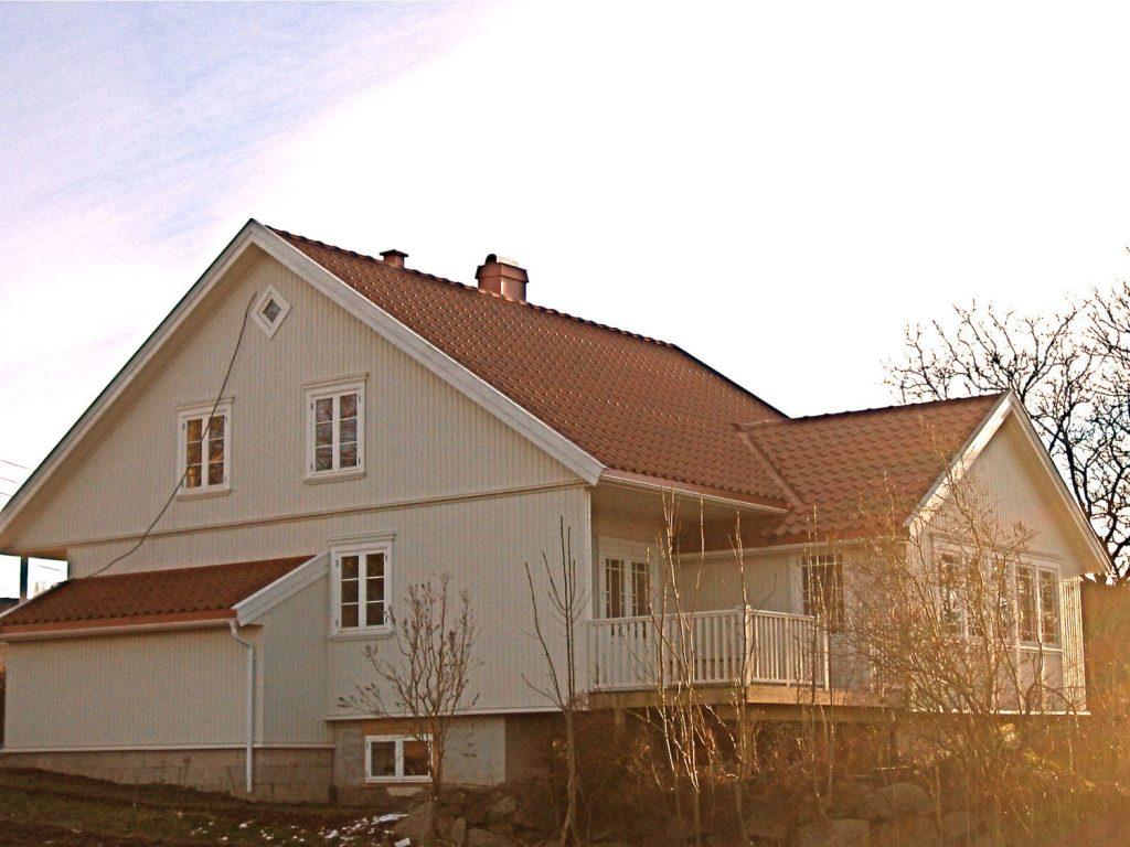 Ombygging/renovering av eldre enebolig i Sandefjord