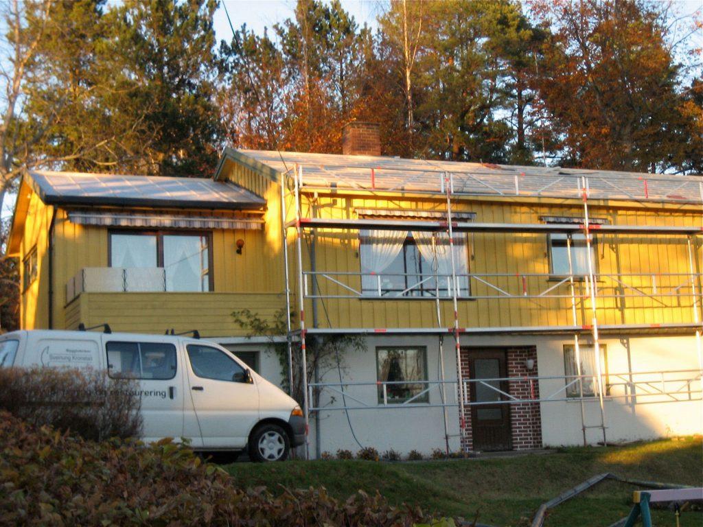 Utskifting av tak