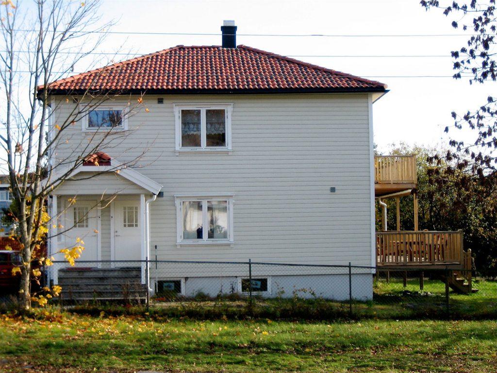 Utvendig totalrenovering av tomannsbolig i Sandefjord