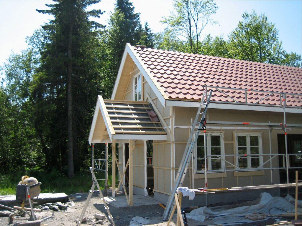 Oppføring av stor garasje i Sandefjord