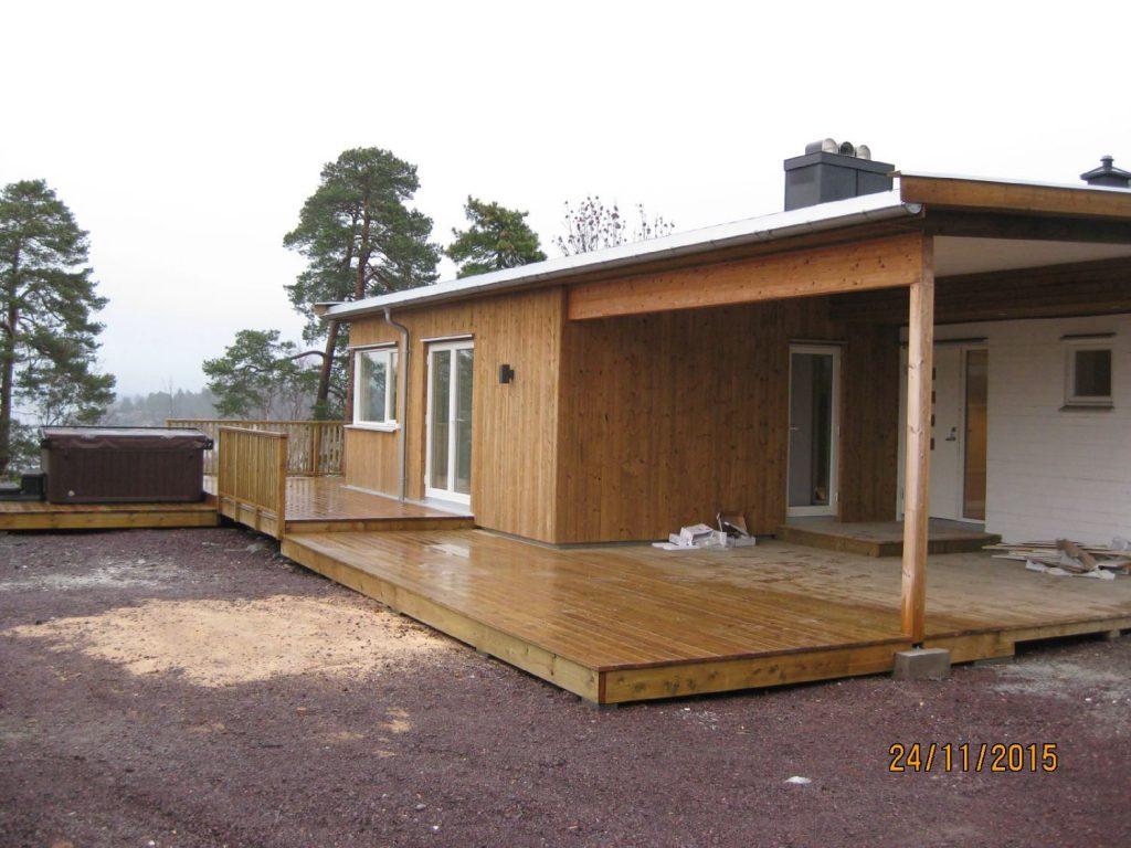 Totalrestaurering og ombygging + ny garasje i Horten